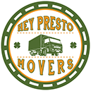 hey presto movers logo toronto irish moving company